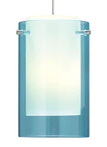 Tech Lighting 700FJECPQS, Mini Echo Mini Low Volt Cylinder Pendant, 1 Light Halogen, Nickel