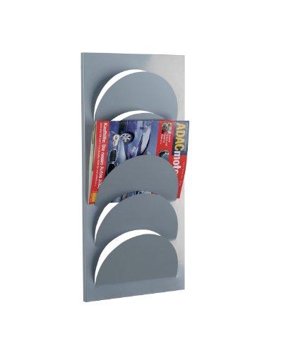 Zeller 10460 Wand-Magazinhalter, Metall / 29 x 62