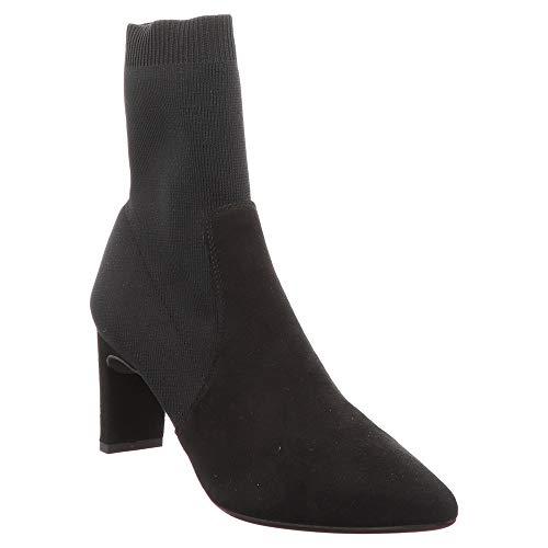 Schwarz Black Unisa Boot Kimo Sock FwFZ48t1q
