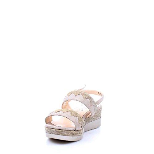 Oro Sandalo Donna Zeppa R70705 Melluso SIYwRR