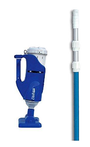 Water Tech Pool Blaster Catfish Pool/Spa Cleaner Vacuum w/ 7-21' Telescopic Pole -