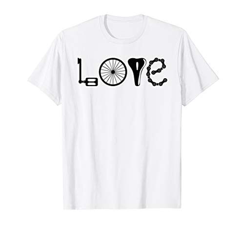 Love Cycling - Bicycle T-shirt for Women ()