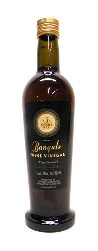 Banyuls Wine Vinegar - Imported From France, 16.9-ounce Bottle (2 PACK) by Banyuls