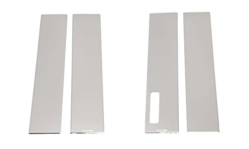 Putco 402678 F150 Stainless Steel Pillar Trim with Keypad - Pillar Covers Putco Chrome