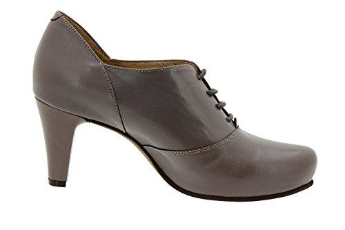 Cuir Chaussure Femme Piesanto Confort Comfortables Amples En Semelle Lacet 5234 Topo Habillée q14at1wxAn