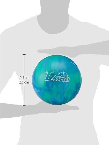 Brunswick Tzone Caribbean Blue Bowling Ball