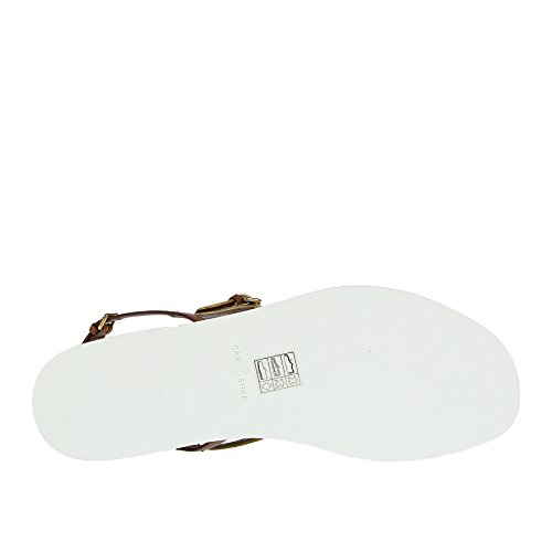 Car Donna Woman Shoe argento Flop Scarpa Sandalo B2402 Oro Platino Flip r1rqTw4