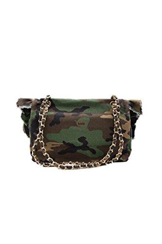 Mia Bag Borsa Tracolla Camouflage Ricamo