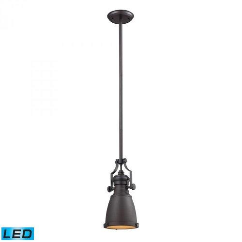 Elk Lighting 66139-1-LED Pendant Light Oiled Bronze ()