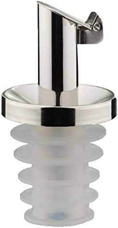 Silver Westmark Pourer Oil-Special of Cork//Stainless Steel 3.2 x 3.2 x 7 cm