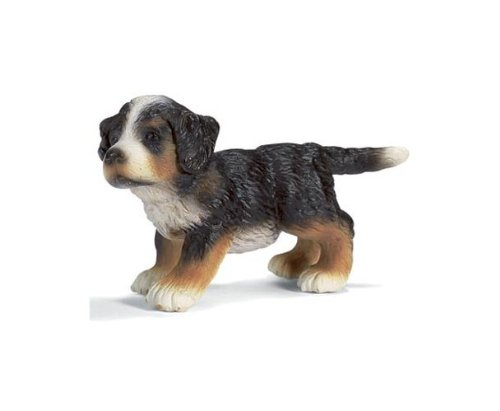 Schleich Bernese Mountain Puppy Dog