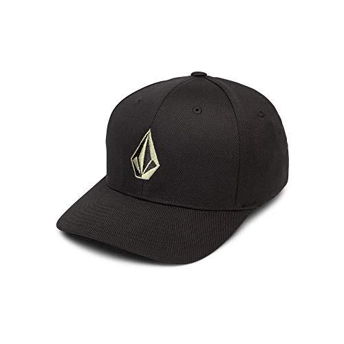 Volcom Men's Full Stone Xfit Flex Fit Hat, Dusty Green, Small/Medium