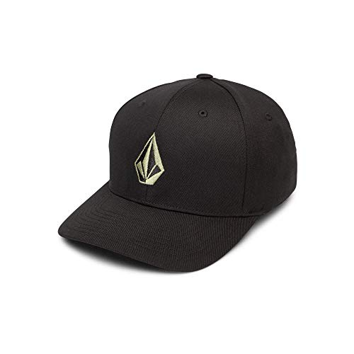(Volcom Men's Full Stone Xfit Flex Fit Hat, Dusty Green Large/X-Large )