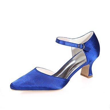 cc624be8aaea Blau Party für Block Satin amp  Blau Heel Lila Hochzeit Rot Spitze Silber Damenschuhe  Hochzeit. Absätzen Yukun Heels Weibliche Schuhe ...