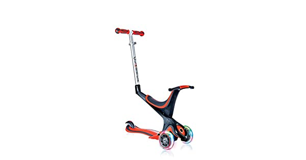 Amazon.com: Globber Evo - Patinete convertible 5 en 1 con 3 ...