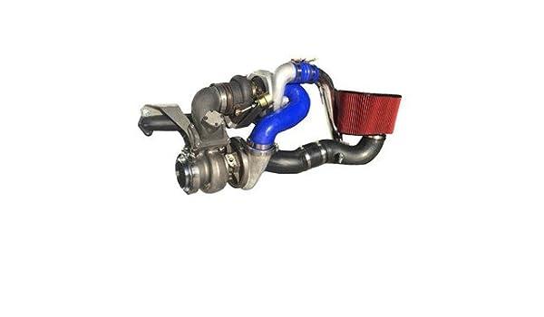 Diesel Fuente de alimentación Stocker Twin Turbo Kit (Stock Turbocompresor con S475) para 2003 - 2007 Dodge Cummins: Amazon.es: Coche y moto