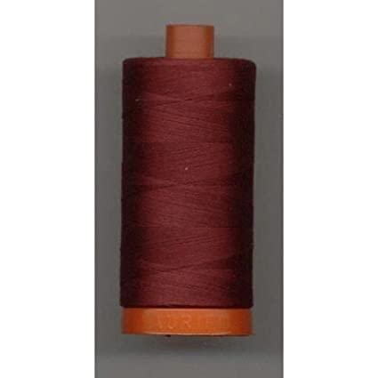 Aurifil Cotton Mako 50wt 1300m Dark Red Work