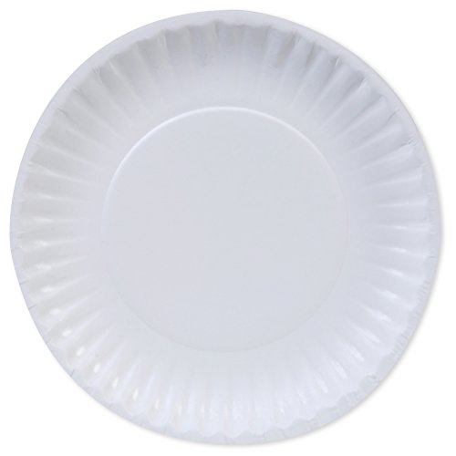 Dixie DBP06W Georgia-Pacific Basic Paper Plate, 6'', White (Pack of 1200) by Dixie