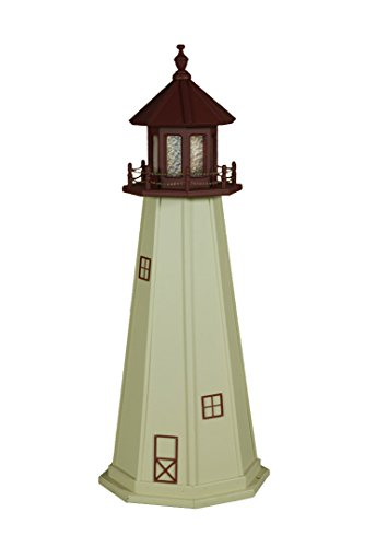 6 Ft Deluxe LighthousesReplicated USA Lighthouses - Cape May, NJ