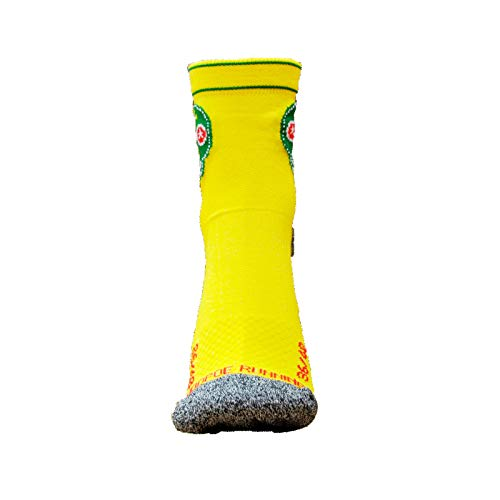 Femme 36 Chaussettes Hommes Trail Originales 45 Running Tailles Jaunes n1qxSAB