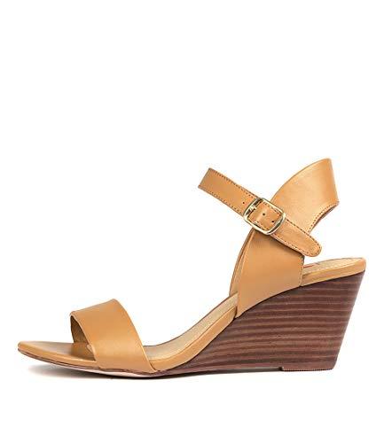 I LOVE BILLY Melli Womens Shoes Medium Heels Summer Wedges Tan Smooth