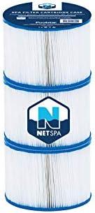 2+1 Places B/âche au Sol et Couverture NETSPA Pack Spa Gonflable Sparo Lot de 3 Cartouches Oxyg/ène Actif