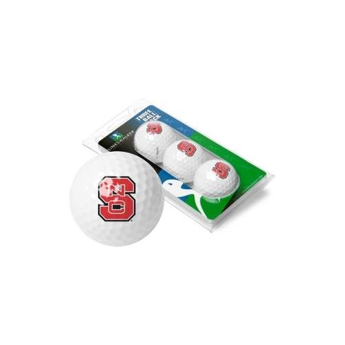 NCAA North Carolina State Wolfpack - 3 Golf Ball Sleeve