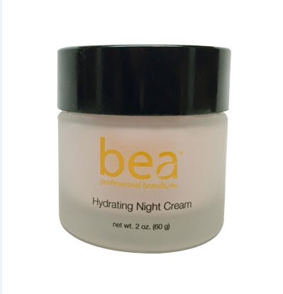 Bea Skincare - Hydrating Night Cream with Shea Butter and Arctic Birch Bark, Rosewood & Chamomile Extracts ( 2 .oz)