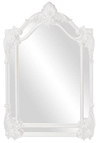 Howard Elliott 56004W Cortland Mirror, Glossy White - Cortland Collection