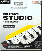 Music Studio 12 Deluxe [OLD VERSION] (Magix Studio Software)
