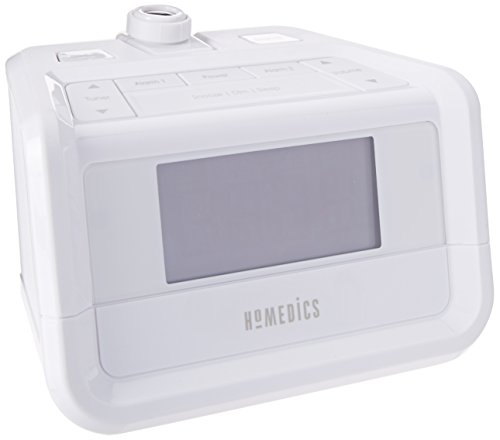 HoMedics, Soundspa Digital FM Clock Radio with Time Projection, SS-4520