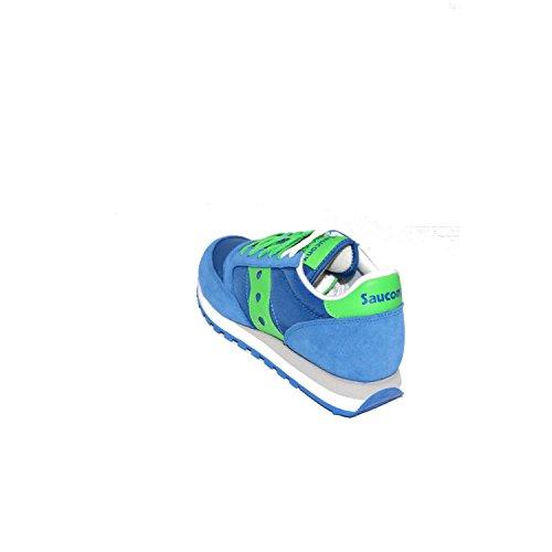 sneaker verde ORIGINAL 40 JAZZ 5 scarpe SAUCONY S2044 421 blu uomo 8gf5InWxq
