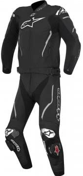 Alpinestars Atem Mens 2-Piece Leather Suit Black/White 50 EUR