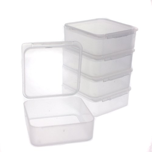 Etonnant Amazon.com   Paylak 12 Storage Square Clear Container For Small Items  Organizer 1.5 Inches Square   Kitchen Storage And Organization Product Sets