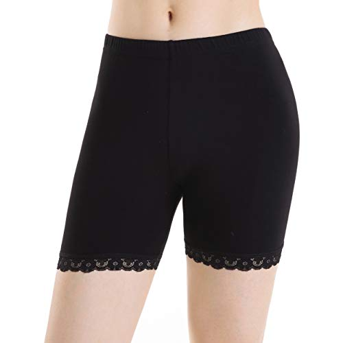 Skirts Cotton Silk Smocked Dress - Ferrieswheel Story Women Under Skirts Short Pants Yoga Leggings Athletic Lightweight Bike Shorts