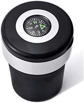 蓋付きの黒の車の灰皿、多機能車の収納タンクは、ほとんどの車のカップホルダーに適してい