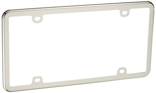 WeatherTech StainlessFrame - Polished Stainless Steel License Plate ()