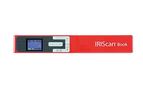 IRIS - IRIScan Book 5 Portable Color Scanner I Mobile Scanning Device I...