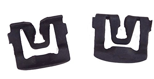 100 Windshield & Rear Window Reveal Moulding Clips Compatible with Ford D1AZ-6542113-B