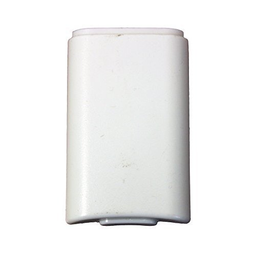 White Battery Pack Cover for Xbox 360 Wireless Controller by Mars Devices