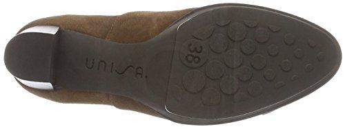 Unisa Monca_bs, Zapatillas de Estar por Casa para Mujer Marrón - Braun (Tobacco)