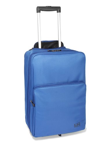 "MH WAY - PN25CO, 17"" pc and tablet backpack and trolley- line PRONTO, cobalt blue"