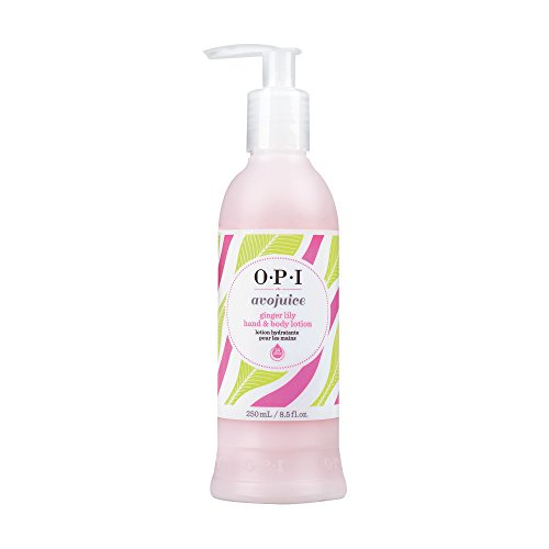 OPI Avojuice Hand Lotion, Ginger Lily, 8.5 fl. oz. - Ginger Hydrating Body Lotion