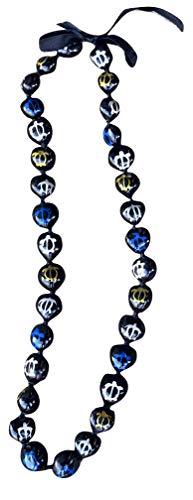 da Hawaiian Store Kukui Nut Necklace Lei (Silver, Gold, Blue Honu Turtle)