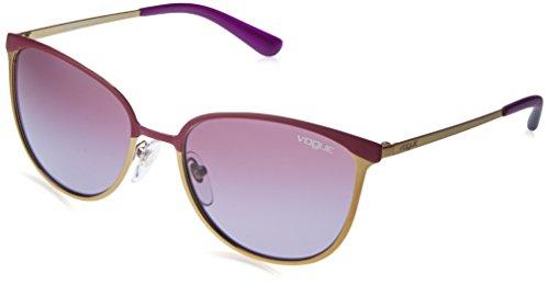 Vogue VO4002S 994S8H Purple / Gold VO4002S Cats Eyes Sunglasses Lens Category - Purple Glasses Vogue