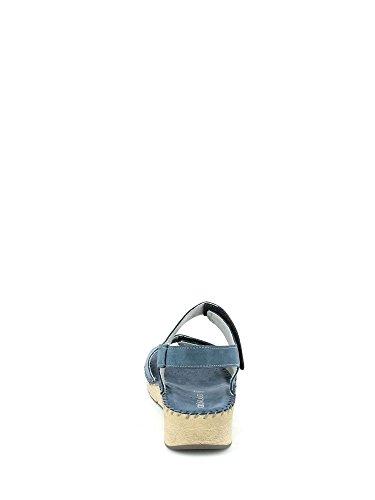 et Blu Grunland sandales boutonnées bout femmes à ouvert wqZ74q1