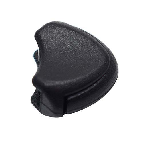 25 Pack Plastic Zipper Pull Cord Ends Lock Stopper Black for Paracord Straps/Backpack/Clothes Zipper