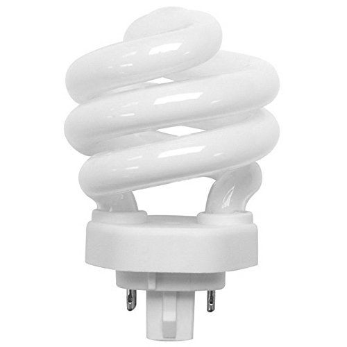 TCP 35018 CFL Spring Lamp - 75 Watt Equivalent (only 18W used!) Soft White (2700K) Spiral TCX Base Light Bulb