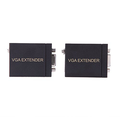 Walmeck VGA to RJ45 Signal Extender Transmitter Adapter + Receiver Set Single Ethernet Cable by Walmeck (Image #6)