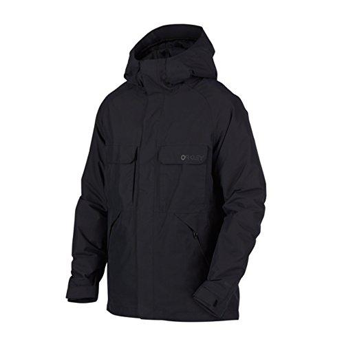 Oakley Lookout 2L Gore Bzi Jacket, Blackout, - Area Oakley Store Bay